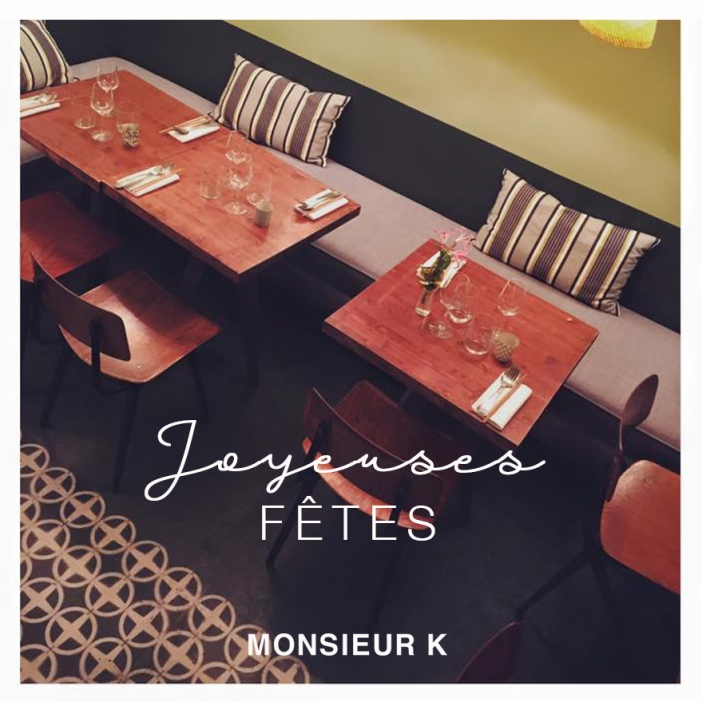 Monsieur K - joyeuses fetes